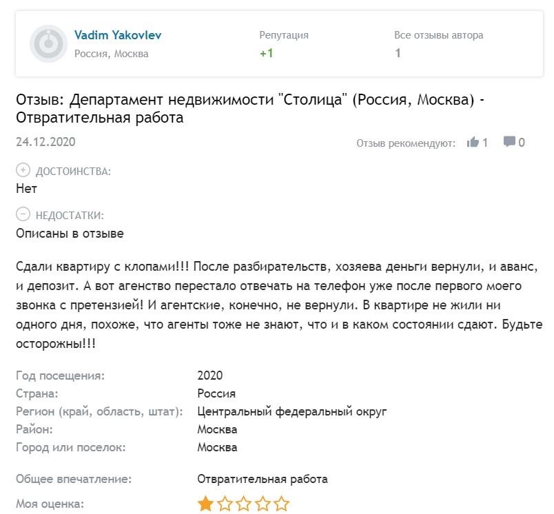 Как снять квартиру в Москве и не обнаружить в ней клопов